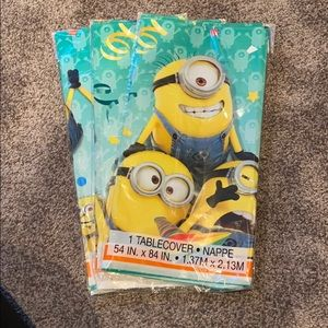 Minions Birthday 3 Tablecovers